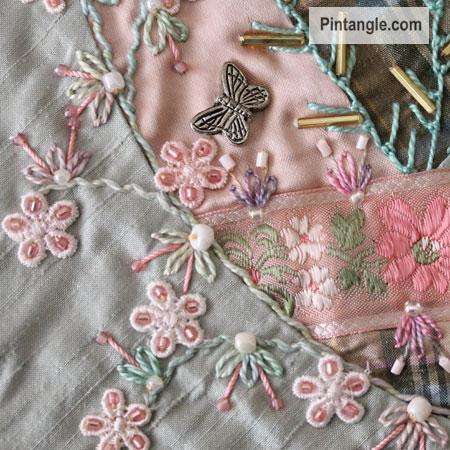 pintangle crazy quilt